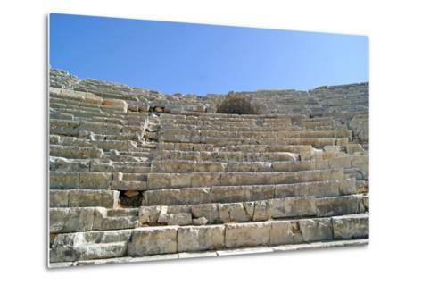 Patara's Amphitheatre, Patara, Turkey--Metal Print