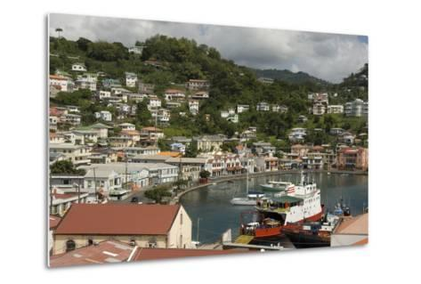 The Carenage (The Old Harbour)-Tony-Metal Print
