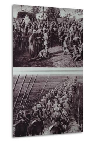 German Prisoners Captured by the Australians, 1914-18--Metal Print