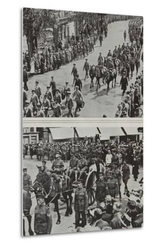 Funeral of Colonel Fitzgerald, Secretary to Lord Kitchener, Eastbourne, 1916--Metal Print
