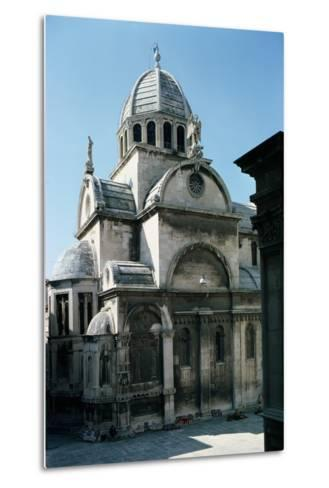 View of Sibenik Cathedral from the East, Built 1443--Metal Print