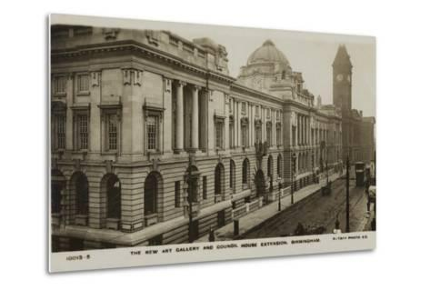 The New Art Gallery and Council House Extension, Birmingham--Metal Print