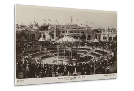 Elite Gardens, Japan-British Exhibition, London 1910--Metal Print
