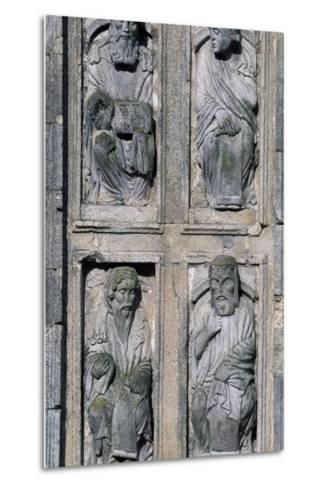 East Facade Cathedral of Santiago De Compostela, Santiago De Compostela--Metal Print