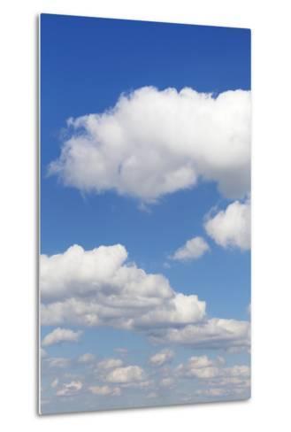 Cumulus Clouds, Blue Sky, Summer, Germany, Europe-Markus-Metal Print