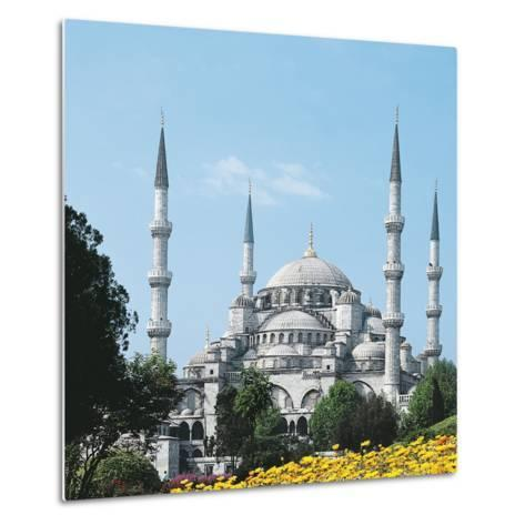 Mosque of Sultan Ahmet I known as Blue Mosque--Metal Print