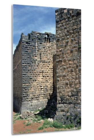 Fortress Wall with Sections of Roman Column, C.12th-13th Century--Metal Print