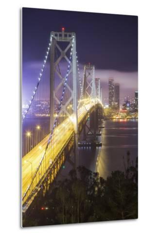 Road Into The City, Bay Bridge - San Francisco-Vincent James-Metal Print