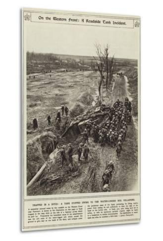 On the Western Front--Metal Print