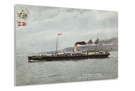 Ss Galtee More, Holyhead and Greenore Service, Quickest Route London, Birmingham and Belfast--Metal Print