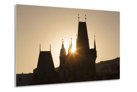 Old Town Bridge Tower, Prague, Czech Republic, Europe-Angelo-Metal Print