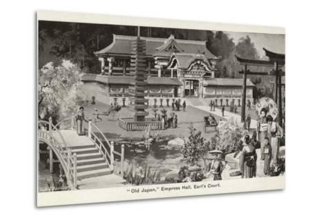 Old Japan Exhibition, Empress Hall, Earl's Court, London, 1907--Metal Print