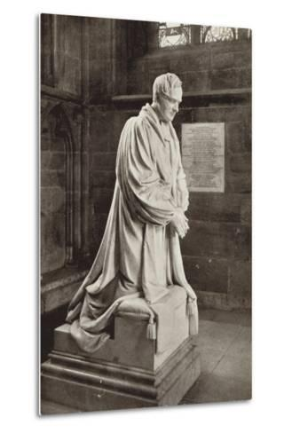 Bishop Ryder's Monument, Lichfield Cathedral, Staffordshire--Metal Print