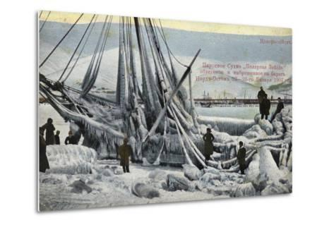 Wreck of the North Star, Novorossiysk, Russia, January 1907--Metal Print