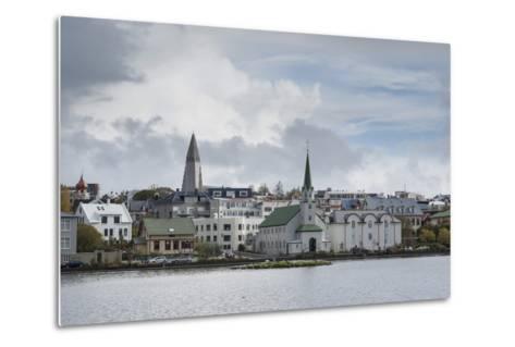 Reykjavik, Iceland, Polar Regions-Michael-Metal Print