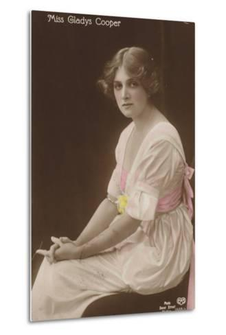 Gladys Cooper, English Stage, Film and Television Actress--Metal Print