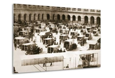 A Splendid Gift: Ninety Motor Ambulances for the French Army Medical Service--Metal Print