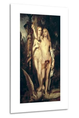Jason and Medea-Gustave Moreau-Metal Print