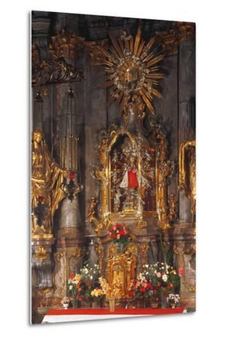 Altar of the Infant Jesus of Prague, Church of Our Lady Victorious, Prague, Czech Republic--Metal Print