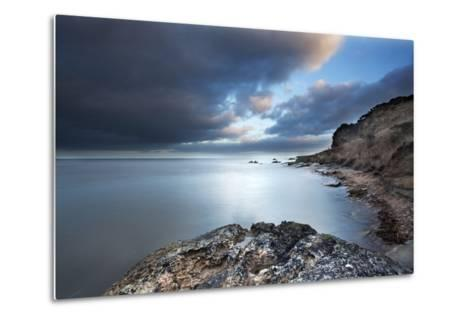 Fife Coast at Dusk Near St. Andrews, Fife, Scotland, United Kingdom, Europe-Mark-Metal Print