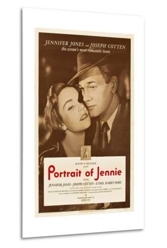 Portrait of Jennie--Metal Print