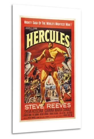 Hercules--Metal Print
