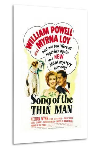 Song of the Thin Man--Metal Print
