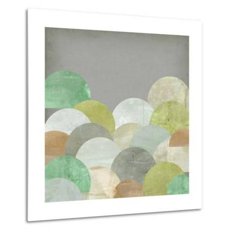 Scalloped Landscape II-Jennifer Goldberger-Metal Print