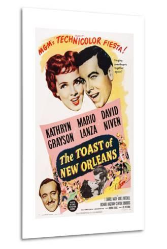 The Toast of New Orleans--Metal Print