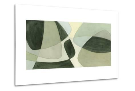 Verdigris Intersection II-Renee W^ Stramel-Metal Print
