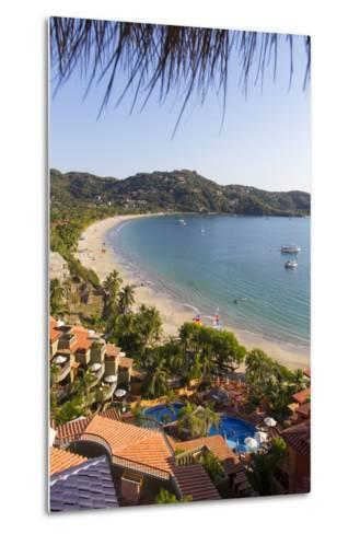Club Intrawest, Playa La Ropa, Zihuatanejo, Guerrero, Mexico-Douglas Peebles-Metal Print
