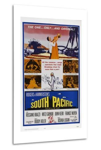 South Pacific--Metal Print