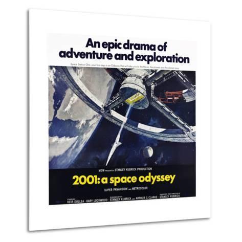 2001: A Space Odyssey--Metal Print