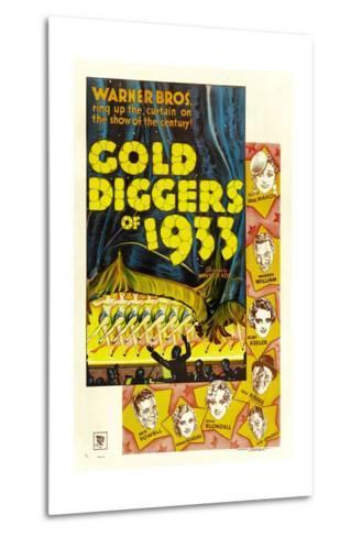 Gold Diggers of 1933--Metal Print