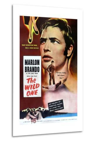The Wild One, Marlon Brando, 1953--Metal Print