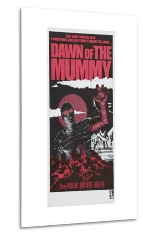 Dawn of the Mummy, Australian poster art, 1981--Metal Print