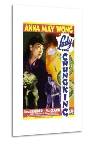 Lady from Chungking, Anna May Wong, 1942--Metal Print
