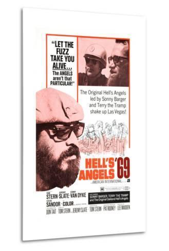 Hell's Angels '69, Sonny Barger, 1969--Metal Print