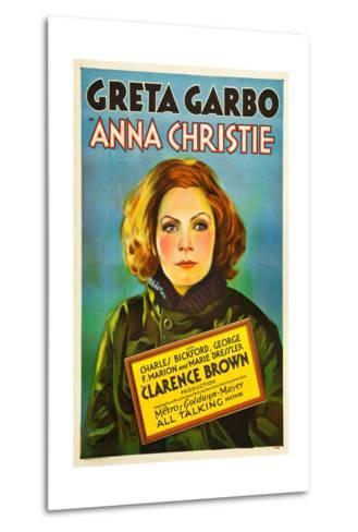 Anna Christie, Greta Garbo, 1930--Metal Print
