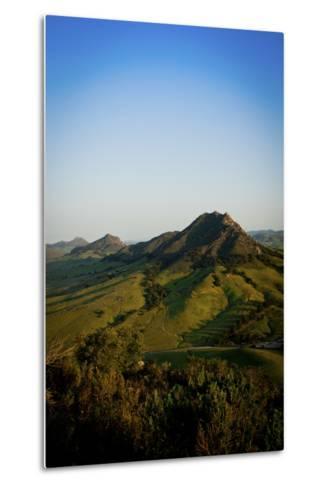 A Sunrise Hike Up Maddona Mountain with Beautiful Views of San Luis Obispo, California-Daniel Kuras-Metal Print