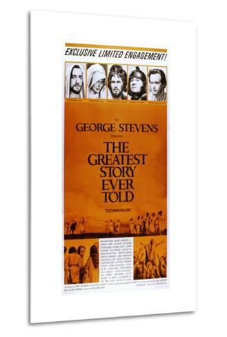 The Greatest Story Every Told--Metal Print
