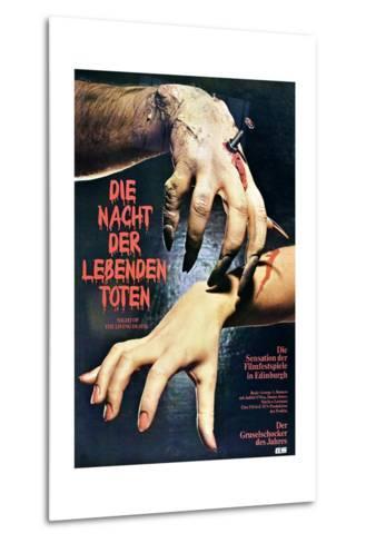 Night of the Living Dead--Metal Print