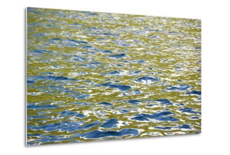 Caribbean, British Virgin Islands, Peter Island. Water Patterns-Kevin Oke-Metal Print