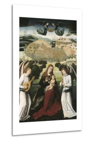 The Virgin of Granada-Petrus Christus-Metal Print