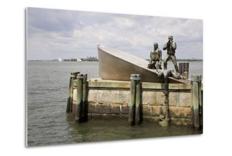 American Merchant Mariners' Memorial in Battery Park--Metal Print