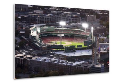 Fenway Park Baseball Ground in Boston, USA--Metal Print