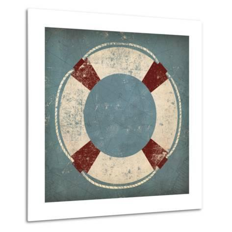 Nautical Buoy Blue-Ryan Fowler-Metal Print