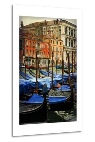 Venetian Canals I-Danny Head-Metal Print