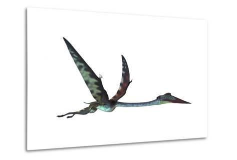 Quetzalcoatlus Predatory Pterosaur--Metal Print