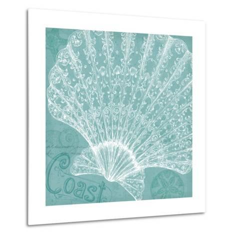 Aqua Treasure III-Daphne Brissonnet-Metal Print